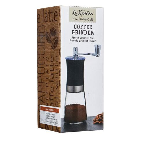New Kitchen Craft Le Xpress Hand Grinder Mill Freshly Ground Coffee KCLXGRIND3