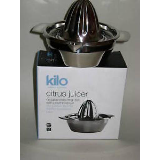 New Cks Kilo Lemon Citrus Squeezer Juice Extractor Stainless J49