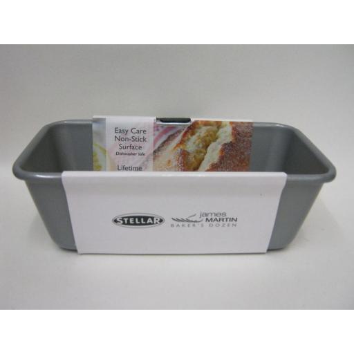 New Stellar James Martin Metal Non Stick Heavy Duty Loaf Bread Tin Pan 1Lb SJM63