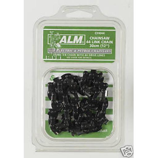 """New ALM Black & Decker Chainsaw Chain DN402 30cm/12"""" CH044"""