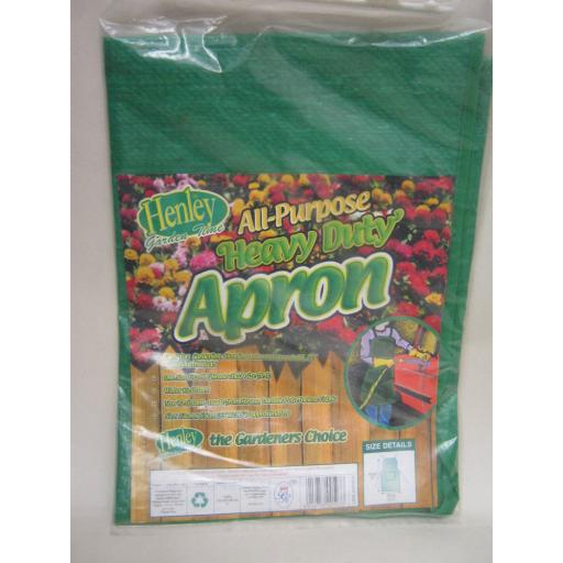 New Henley All Purpose Heavy Duty Green Apron Water Resistant
