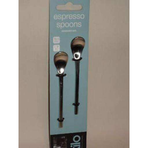 New Kilo Espresso Spoons Spoon Stainless Steel Pack of 2 C117
