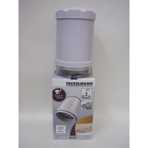 New Fackelmann Probus Multi Cheese Chocolate Grater 3 Blades 485586
