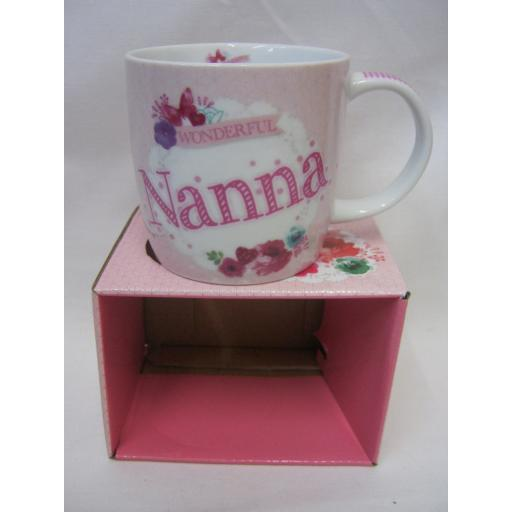 New BGC Fine China Mug Beaker Coffee Cup Tea Wonderful Nanna KL0026-1
