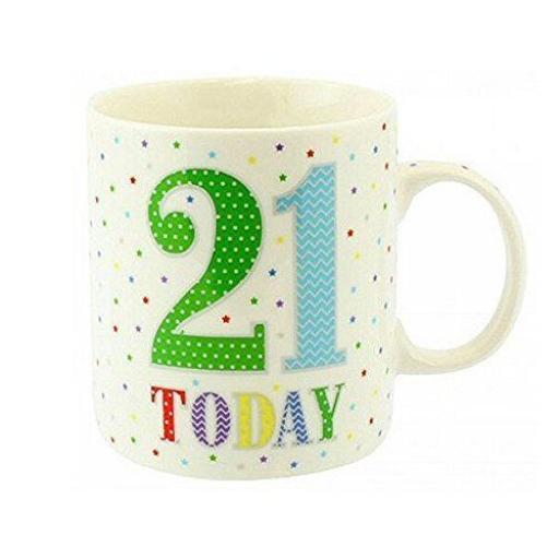 New Lesser And Pavey Fine China Mug Beaker Coffee Tea 21 Today LP33520