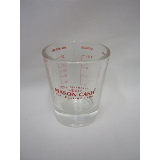 New Mason Cash Mini Measuring Glass Tot Mini Measure 2006.190