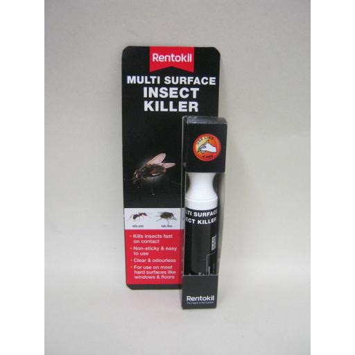 New Rentokil Multi Surface Fly Ant Flypen Insect Killer Pen