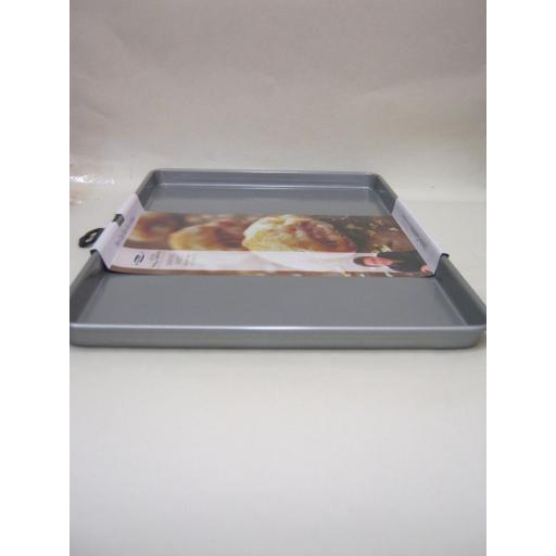 New Stellar James Martin Metal Non Stick Heavy Duty Baking Sheet Tin Lge SJM55