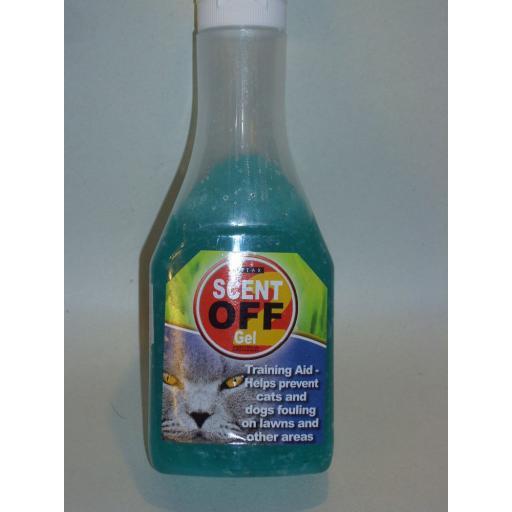 New Vitax Scent Off Gel Cat And Dog Repellent Deterrent 225g