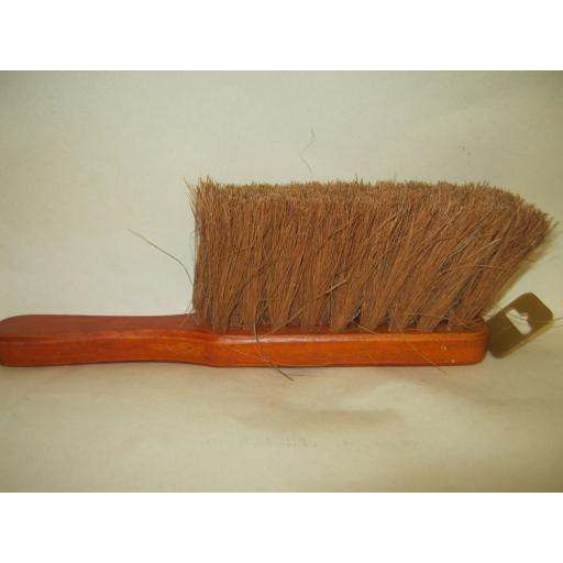New Harris Victory Groundsman Soft Bristle Coco Hand Brush Wood Backed