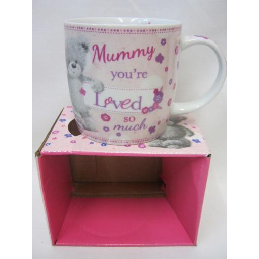 New BGC Fine China Mug Beaker Coffee Cup Tea Mummy You're Loved So Much KL0003-1