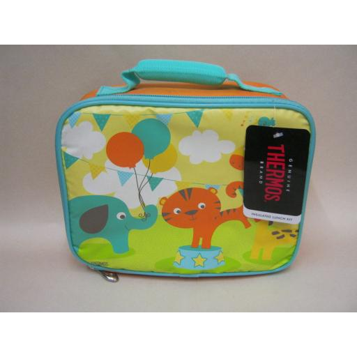 New Thermos Insulated Kids Childs Cooler Cool Lunch Kit Big Top Soft 149809