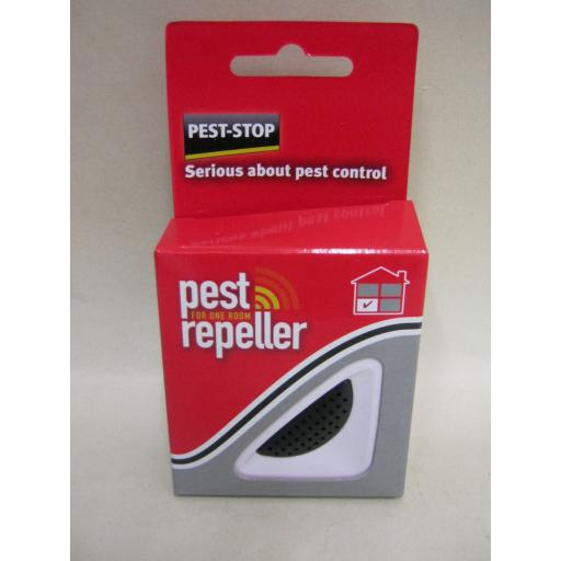 New Pest Stop Pest Repeller For One Room Mouse And Rat Crawling Insect Plug In
