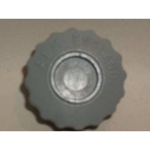 New Alm Spool Bump Knob M6 Bolt Right Hand Thread Grey GP004