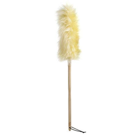 New Eddingtons Valet Lambs Wool Duster Beech Wood Handle 75cm Large 410312