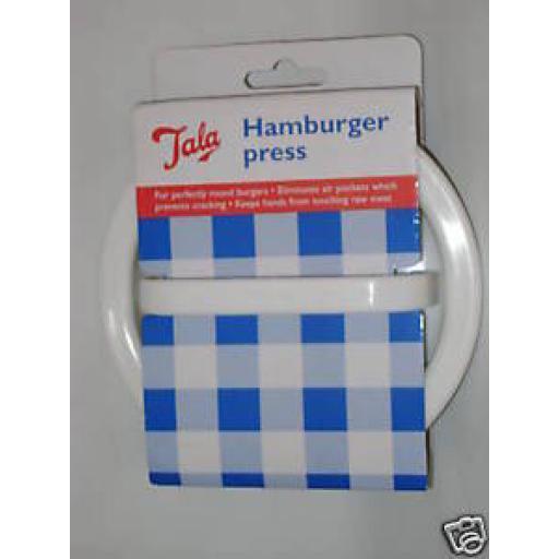 New Tala Plastic Beefburger Hamburger Burger Press Mould 3054