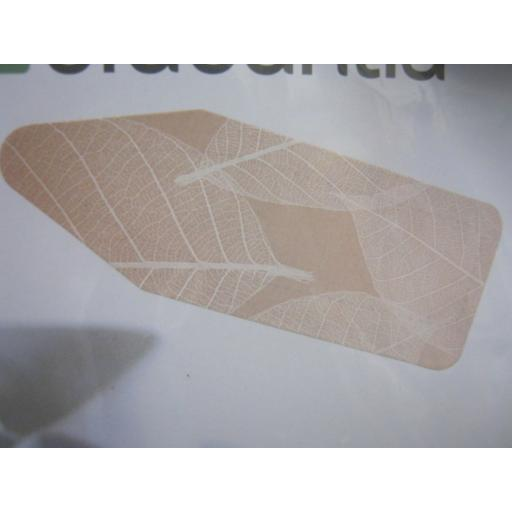 New Brabantia Cotton Ironing Board Cover B 124cm x 38cm Peach Leaves Pattern