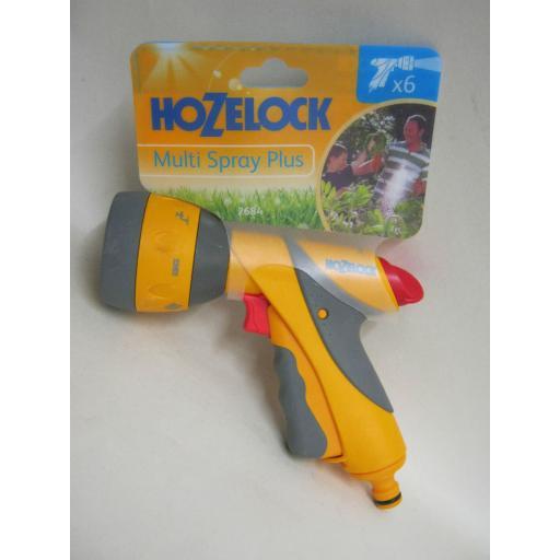 New Hozelock Water Multi Spray Jet Sprayer Plus Gun For Garden Hose Pipes 2684