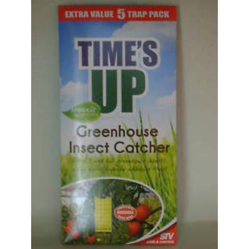 New Times Up Greenhouse Insect Catcher Killer Poison Free Traps Pk5 STV017