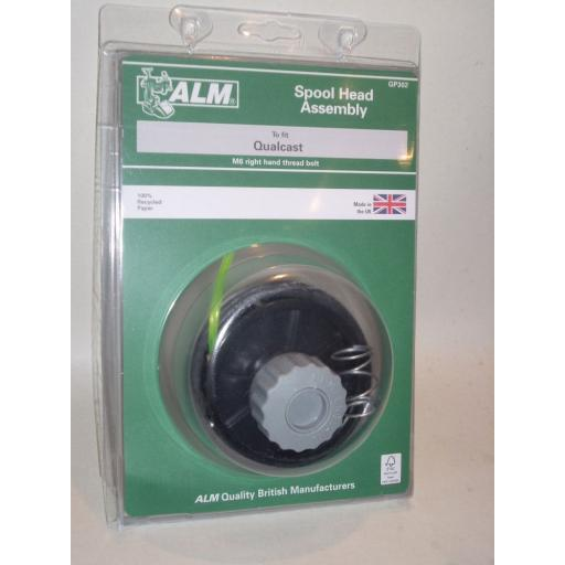 New ALM Qualcast QC-PT 3043 TE30H Spool Head Assembly GP302