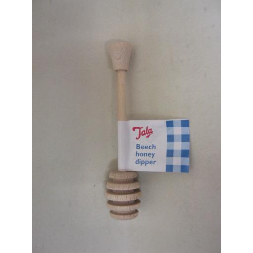 New Tala Beech Wood Honey Dipper Drizzler 10A30066