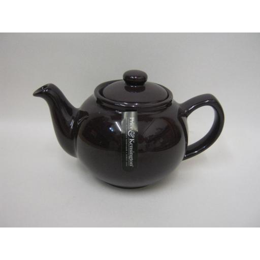 New Price And Kensington Small Pot Teapot 2 Cup Berry / Dark Plum 0056.769