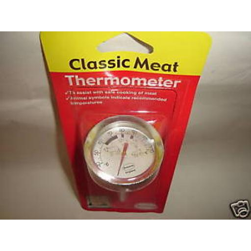 New Brannan Dial Meat Roast Thermometer Temperature Gauge 23/401/2