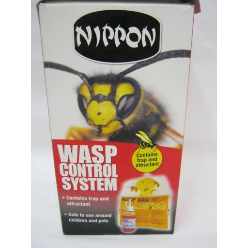 New Nippon Wasp Control Baited Bag System Trap 5NWTB1