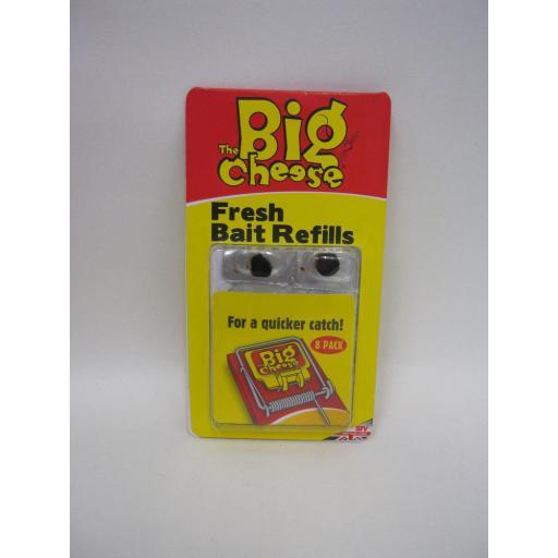 New Stv The Big Cheese Fresh Bait Refills For A Quicker Catch Pk 8 STV196