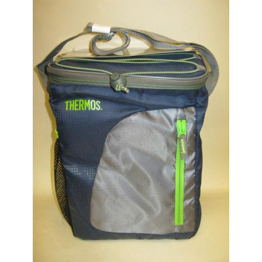 New Thermos Radiance Insulated Cooler Cool Bag 12 Can 9 Litre Navy 148859