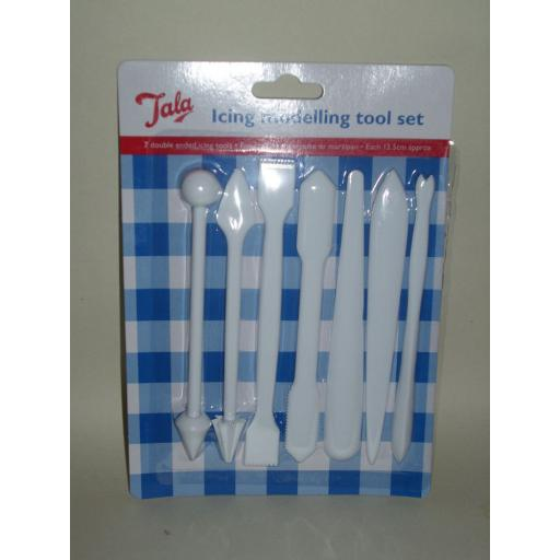 New Tala Icing Modelling Marzipan Cake Tool Set 7 Piece 9732