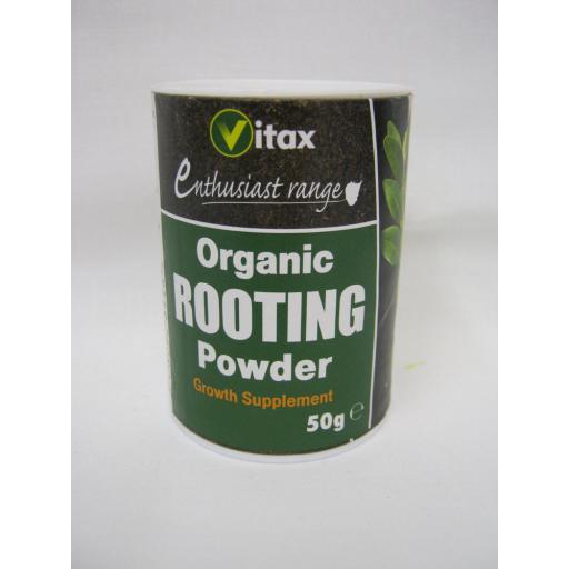 New Vitax Organic Rooting Powder Growth Supplement 50g