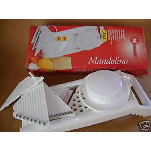 New Metaltex Multi Purpose Grater Slice Mandolin Vegetable 7 in 1 Slicer