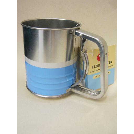 New Tala Flour Icing Chocolate Spring Sieve Stainless Steel Retro Sifter