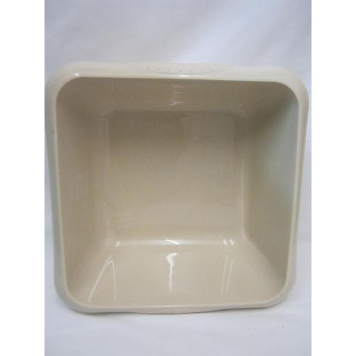 "New TML Square Plastic Washing Up Bowl 7 Ltr 29cm 11 1/2"" Oatmeal Beige"