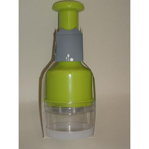 New Zeal Vegetable Onion Chopper Dicer Cutter Slicer Lime Green J256