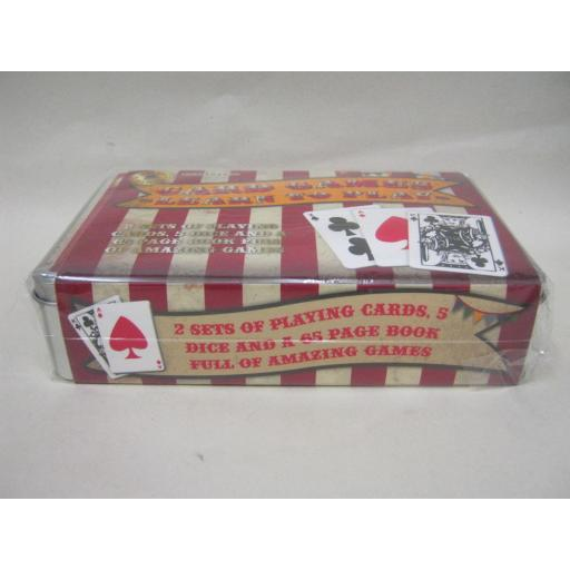 New Retro Games Traditional Card Games Learn To Play Metal Tin RFS10229
