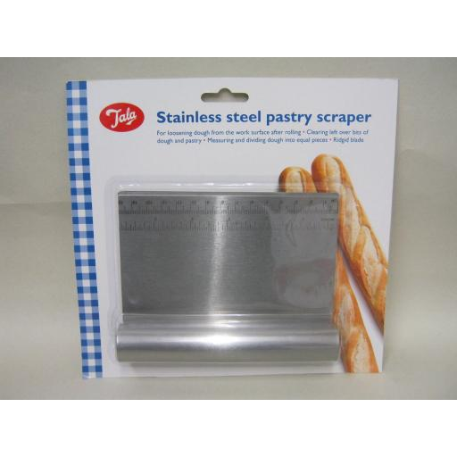New Tala Stainless Steel Pastry Dough Scraper 10A00983