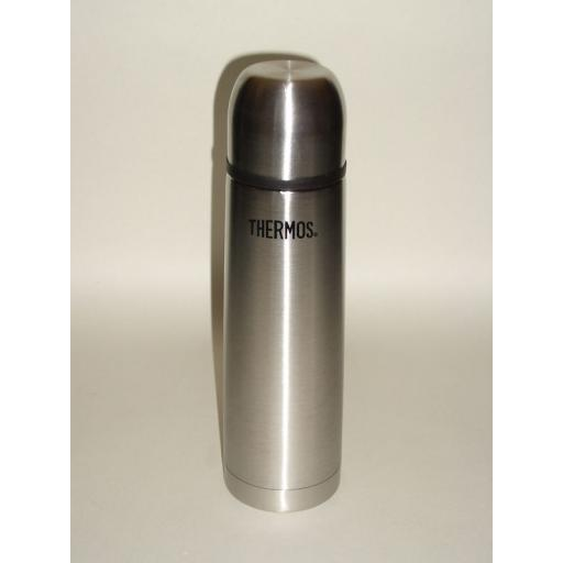 New Thermos Stainless Steel Thermocafe Flask 0.5Ltr