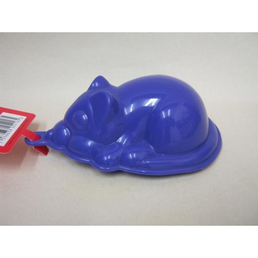 New Zeal Plastic Mouse Shape Jelly Mould Purple L34