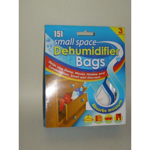 New 151 Moisture Small Space Moisture Dehumidifier Damp Bag