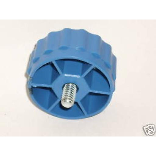 New Alm Spool Bump Knob Bolt Blue Right Hand Thread MC110