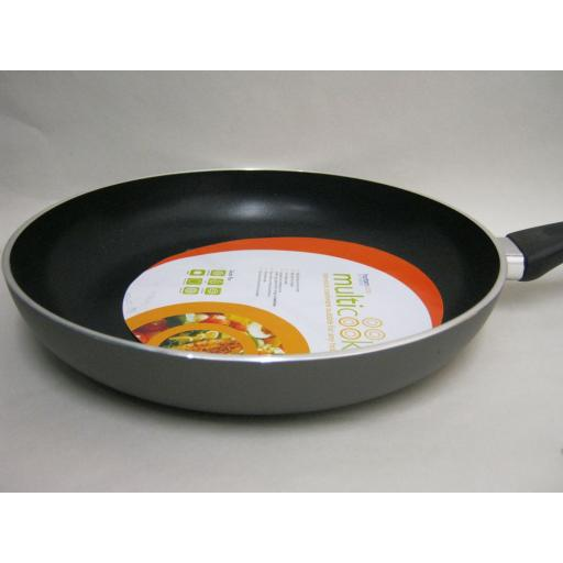 New Multi Cook Induction Non Stick Frying Saute Omelette Pan 28cm MULT28