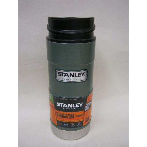 New Stanley Classic Travel Mug Coffee Tumbler Hammertone Green 355ml Leak proof