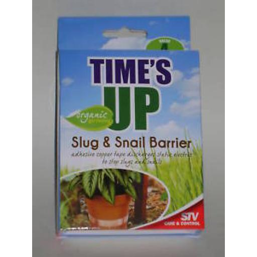 New Defenders Slug Snail Barrier Copper Tape Repellent 4 Metres STV097