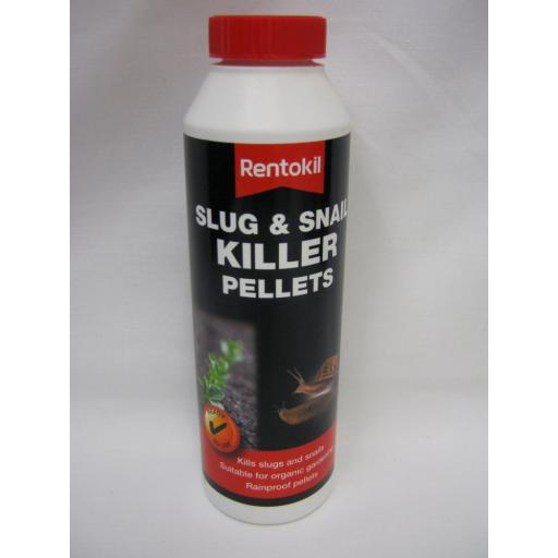 New Rentokil Slug And Snail Rainproof Killer Pellets 350g PSS120