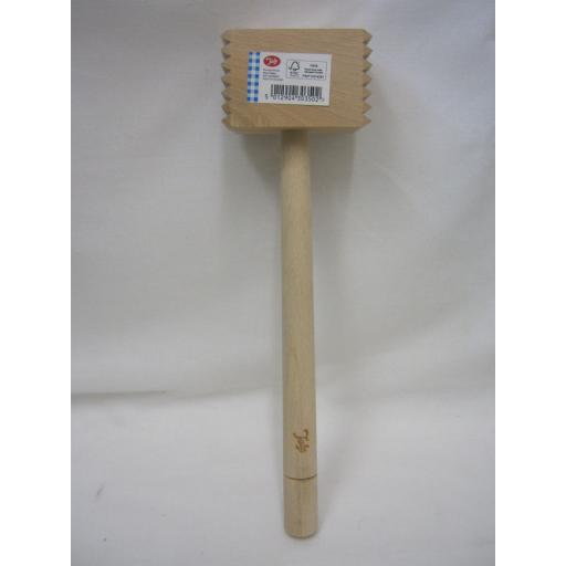 New Tala Wood Meat Tenderiser Steak Mallet Hammer 10A30350