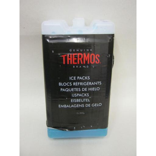 New Thermos Ice Packs Freezer Blocks 2 X 200G