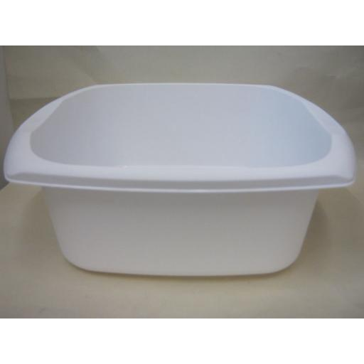 New Addis Oblong Plastic Washing Up Bowl 38cm 15 Inch White