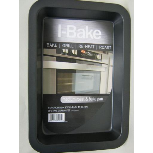 New I-Bake Medium Roast Roasting Bake Grill Pan Tray 5584